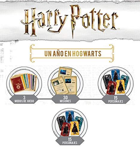 Educa mesa Harry Potter, un año en Hogwarts, 4 Modos de Juego Distintos, a partir de 7 años, color variado (18357) , color/modelo surtido