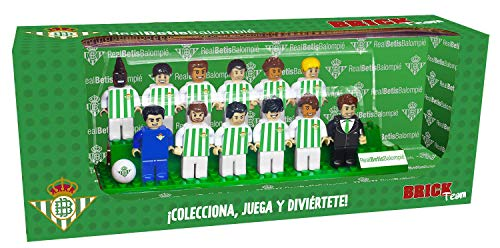 Eleven Force Brick Team Real Betis Balompié 2ª Edición, Multicolor, Talla Única