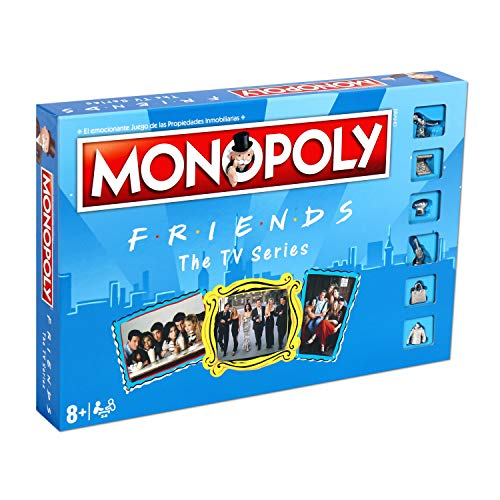 ELEVEN FORCE Monopoly Friends, multicolor, Talla Única (12135)