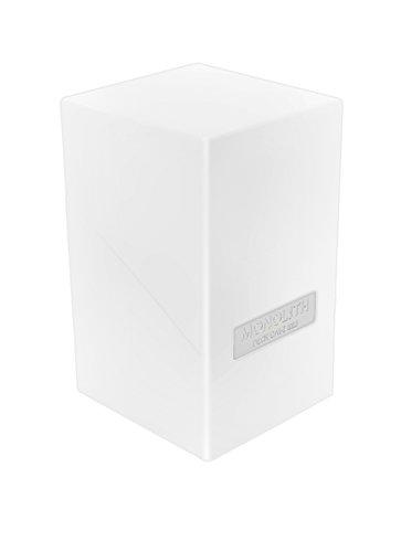 Êltimo Guardia - Caja para Tarjetas de Monolith Cubierta Case 100 tamaño estándar Blanca
