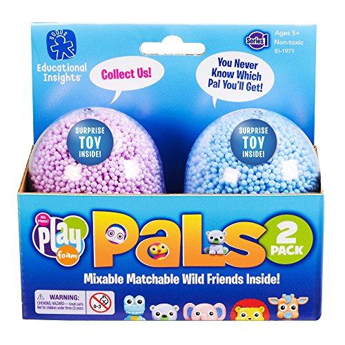 Espuma de Juegos con figuritas Playfoam Pals Wild Friends, Pack de 2
