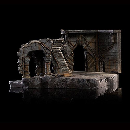 Estatua Dol-Guldur Environment (South Courtyard). El Hobbit: La batalla de los Cinco Ejércitos. Escala 1:30. Weta Collectibles