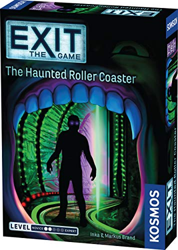 Exit: The Haunted Roller Coaster Board Game