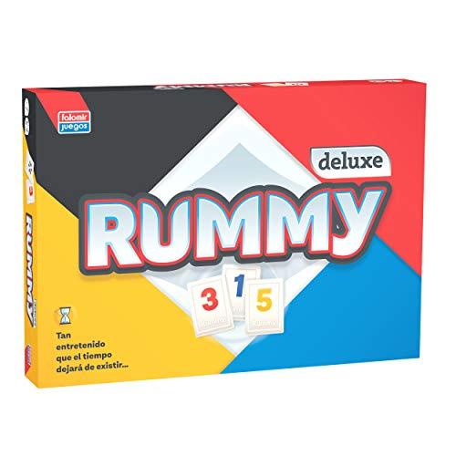 Falomir Deluxe Rummy de Luxe Mesa. Juego Clásico. (646396)