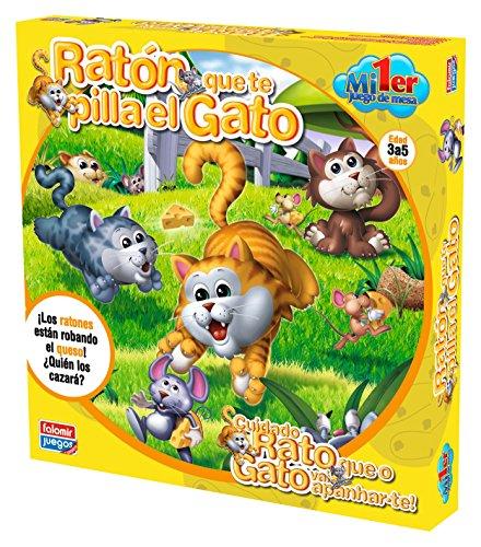 Falomir - Ratón Que te pilla el Gato, Juego Educativo (25002)