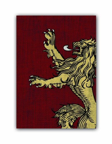 Fantasy Flight Games-A Game of Thrones Art Sleeves: House Lannister, Color (HBO03)
