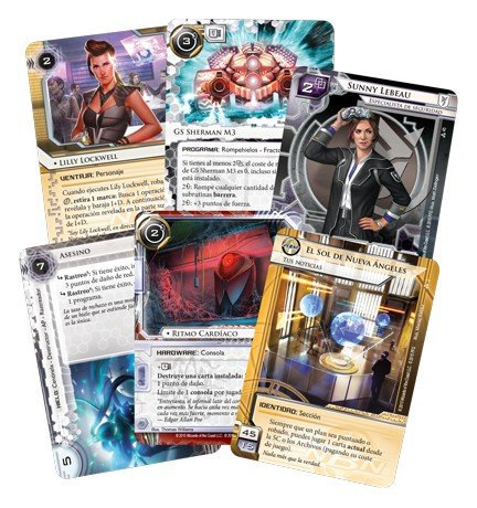 Fantasy Flight Games- Android Netrunner LCG - Datos y Destino - Español, Color (EDGADN29)