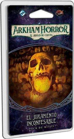 Fantasy Flight Games- Arkham Horror el Juramento inconfesable - español, Color (FFAHC13)