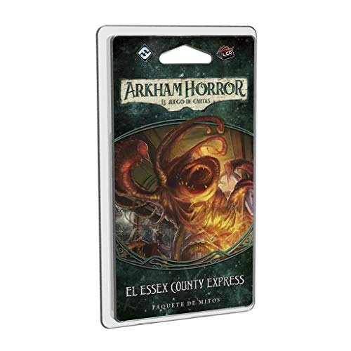Fantasy Flight Games- Arkham Horror LCG - El Essex County Express - Español, Color (FFAHC04)