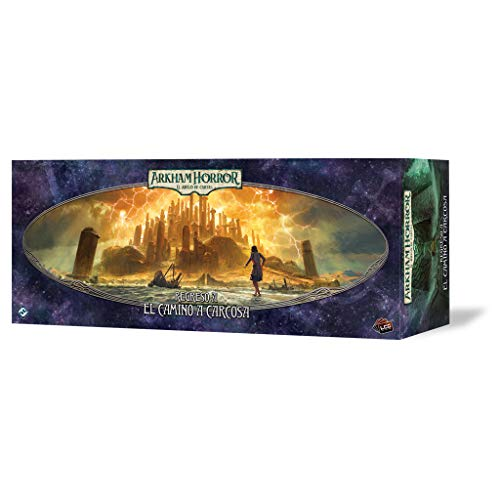 Fantasy Flight Games- Arkham Horror LCG - Retorno al Camino de Carcosa, Color (AHC36ES)