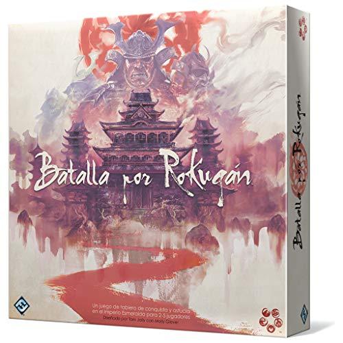 Fantasy Flight Games- Batalla por Rokugán - Español, Multicolor (L5B01ES)