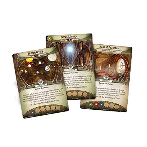 Fantasy Flight Games FFGAHC23 City of Archives Mythos Pack: Arkham Horror LCG Exp, Multicolor