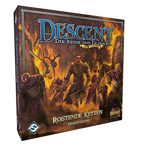 Fantasy Flight Games FFGD1336 Descent 2. Ed. - Extensión de Cadenas oxidadas.