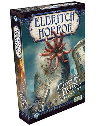 Fantasy Flight Games FFGEH08 Cities in Ruin: Eldritch Horror Exp, Multicolor