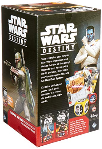 Fantasy Flight Games ffgswd07destino de Star Wars: Empire at War Booster Display,versión inglesa , color/modelo surtido
