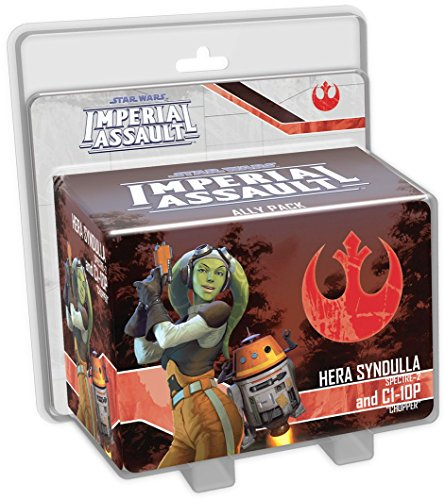 Fantasy Flight Games FFGSWI43 Hera Syndulla y C1-10P Ally Pack: Star Wars Imperial Assault Exp, Multicolor
