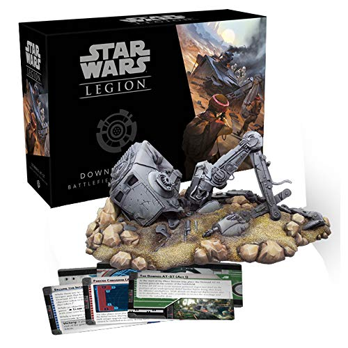 Fantasy Flight Games FFGSWL30 Star Wars Legion: Down at-ST Battlefield Expansion, Multicolor
