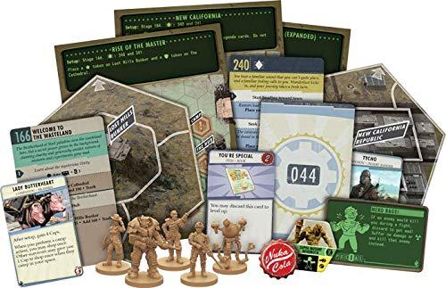 Fantasy Flight Games FFGZX03 Fallout: New California Expansion, varios colores , color/modelo surtido