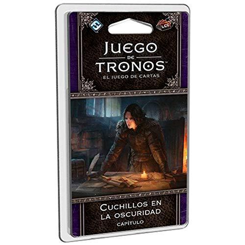 Fantasy Flight Games- Juego de Tronos lcg - Cuchillos en la Oscuridad - español, Multicolor (FFGT36)