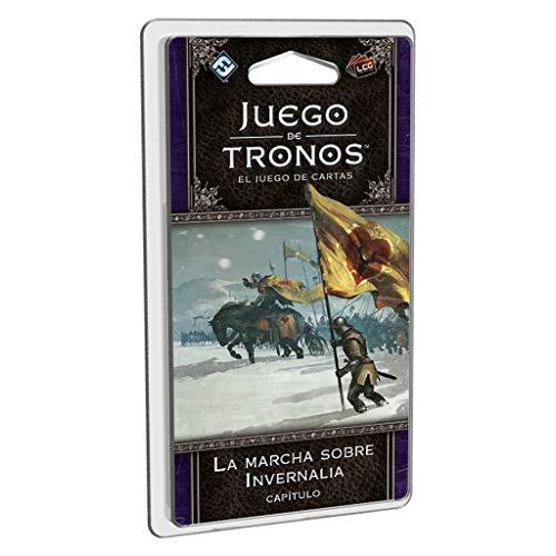 Fantasy Flight Games- Juego de tronos lcg: la marcha sobre invernalia - español, Multicolor (FFGT32) , color/modelo surtido