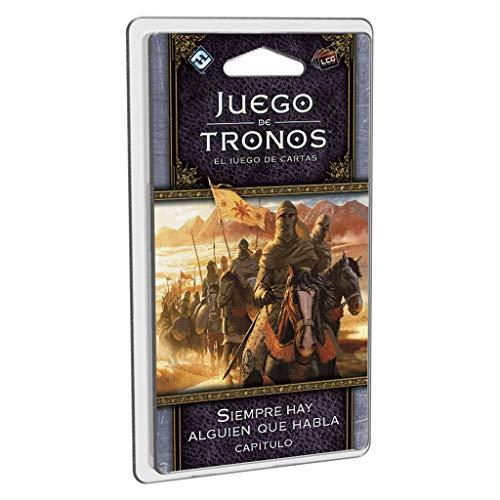 Fantasy Flight Games- Juego de Tronos lcg: Siempre Hay Alguien Que Habla - español, Multicolor (FFGT28)