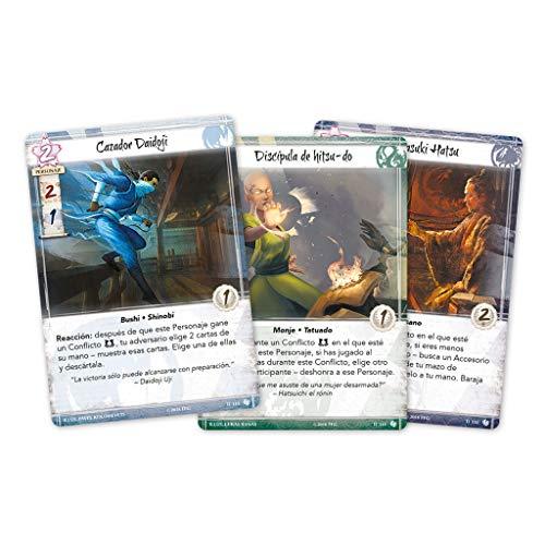 Fantasy Flight Games-La Leyenda de los Cinco Anillos LCG-El Deber de Shoju (L5C24ES)