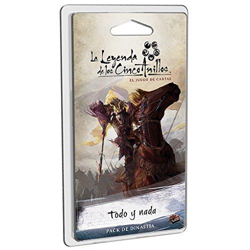 Fantasy Flight Games-La Leyenda De Los Cinco Anillos: Todo y nada-Español, color (FFL5C13) , color/modelo surtido