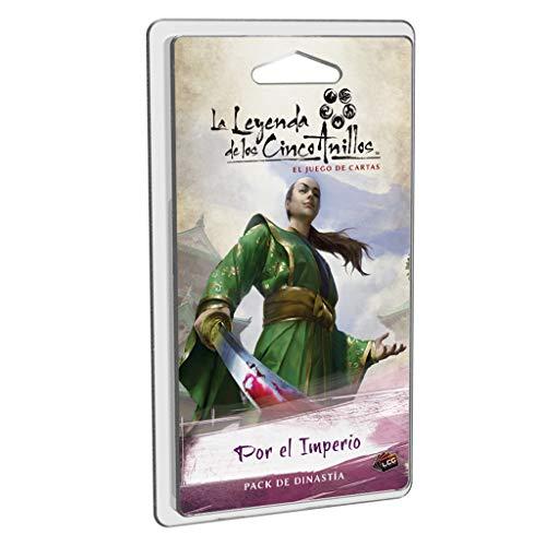 Fantasy Flight Games- Leyenda de los Cinco Anillos LCG - por el Imperio - Español, Color (L5C19ES)