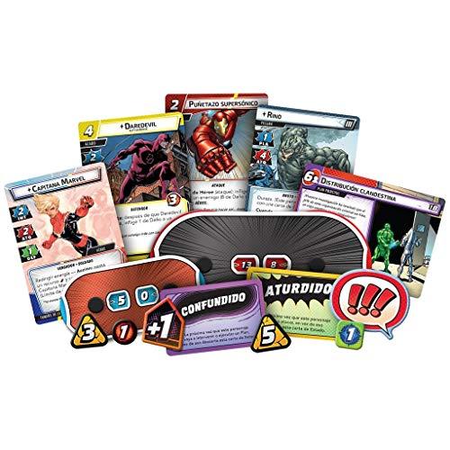 Fantasy Flight Games-Marvel Champions: El juego de cartas, color mc01es , color/modelo surtido