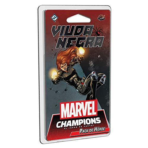 Fantasy Flight Games- Marvel Champions - Viuda Negra, Color (MC07ES)