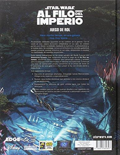 Fantasy Flight Games Star Wars: Al Filo del Imperio - Horizontes Lejanos, Juego (Edge Entertainment EDGSWE10)
