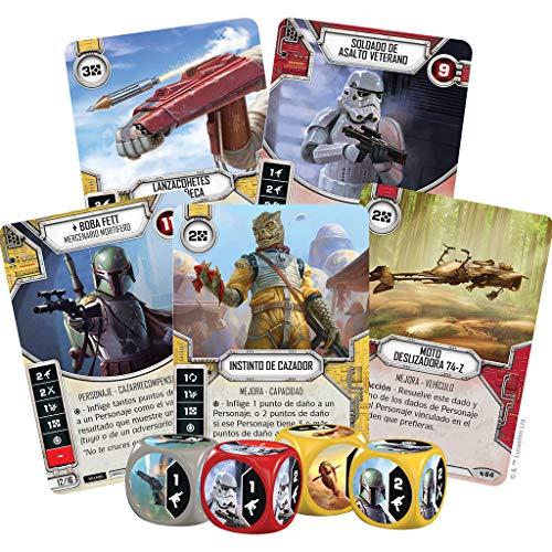 Fantasy Flight Games- Star Wars Destiny: Caja de Inicio: Boba Fett - Español (FFSWD09)