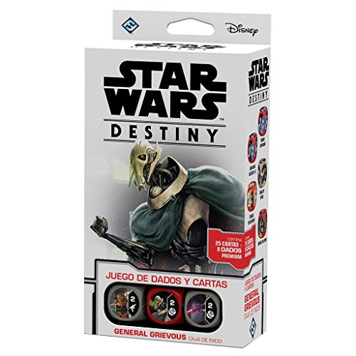 Fantasy Flight Games Star Wars Destiny Caja de inicio: General Grievous (Asmodee SWD14ES)