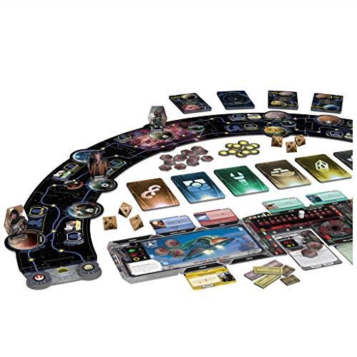 Fantasy Flight Games- Star Wars: El Borde Exterior - Juego de Mesa - Español (SW06ES)