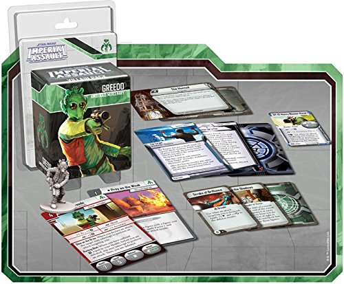Fantasy Flight Games Star Wars: Imperial Assault Greedo-Juego de Cartas coleccionables (FFGD4536)