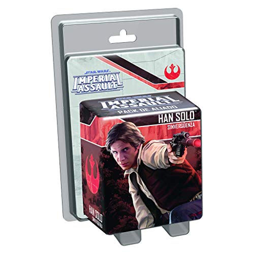 Fantasy Flight Games Star Wars Imperial Assault, Han Solo (Edge Entertainment EDGSWI06)