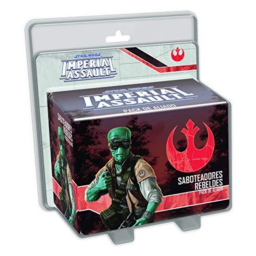 Fantasy Flight Games Star Wars Imperial Assault, Saboteadores Rebeldes (Edge Entertainment EDGSWI09)