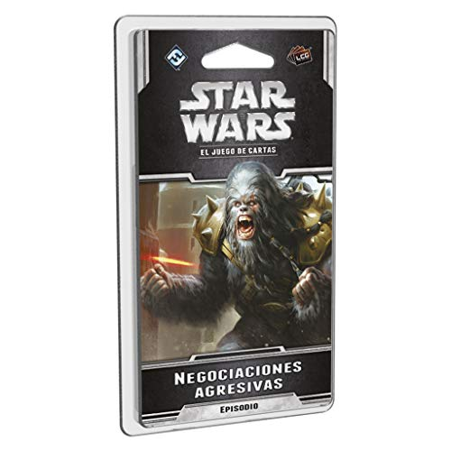Fantasy Flight Games Star Wars lcg-negociaciones agresivas-español, Color (FFSWC38)