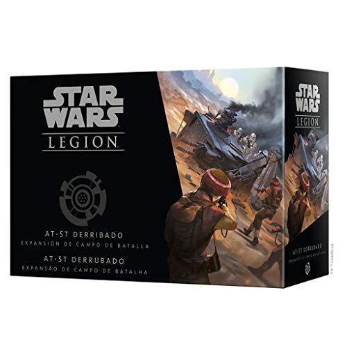 Fantasy Flight Games- Star Wars Legión - AT-ST Derribado, Color (SWL30ES)