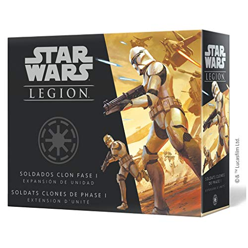 Fantasy Flight Games- Star Wars Legión: Soldados clon fase I, Color (SWL47ES) , color/modelo surtido
