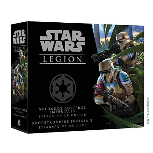 Fantasy Flight Games- Star Wars Legion - Soldados costeros imperiales, Color (SWL41ES) , color/modelo surtido