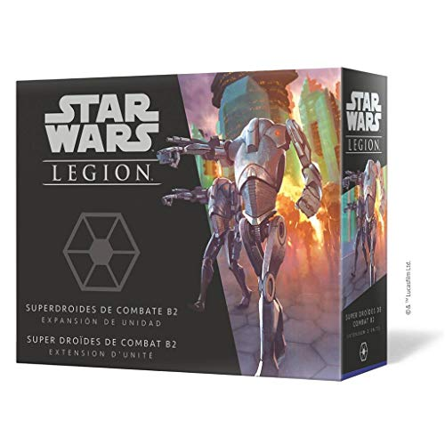 Fantasy Flight Games- Star Wars Legion - Superdroides de Combate B2, Color (SWL62ES)