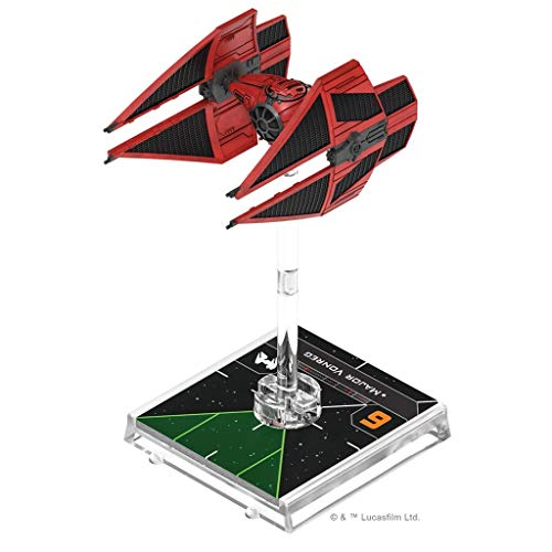 Fantasy Flight Games- Star Wars X-Wing 2.0 - Tie del Mayor Vonnreg, Color (SWZ62ES)