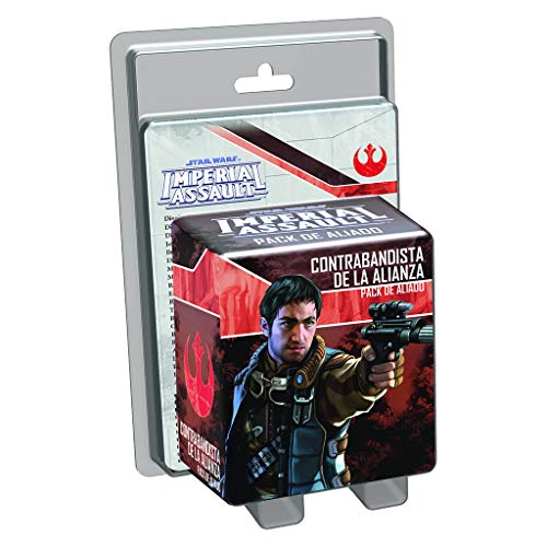 Fantasy Flight Games- Star_Wars Sw Imperial Assault: aliado contrabandista de la Alianza - español, Color (Fantsy Flight Games EDFEDGSWI17)