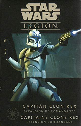 Fantasy Flight Games- Stwars Legion - Capitán Clon Rex, Multicolor, Talla Única (SWL46ES) , color/modelo surtido