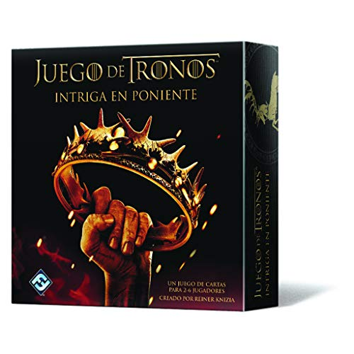 Fantasy Flight Games Tronos Juego de Cartas, Color (Edge Entertainment FFHBO08)