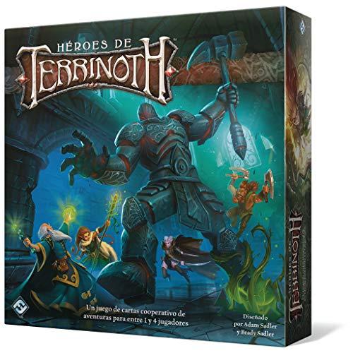 Fantasy Flight - Héroes de Terrinoth - Español Color (TER01ES)