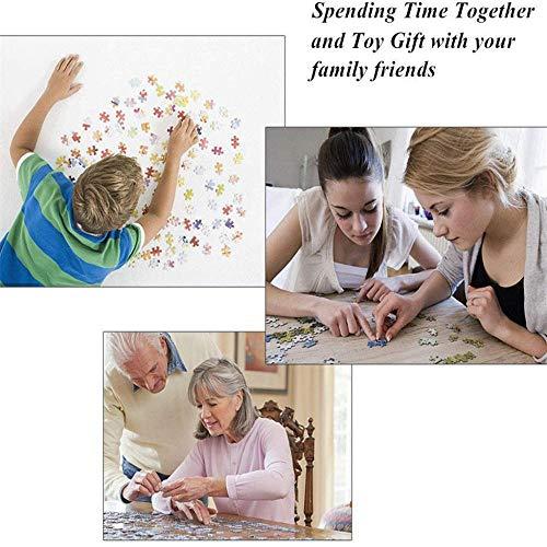 Fanxp® Rompecabezas de 1000 Piezas Juegos de Tiempo y Mareas Adultos Madera Niños Adultos Juguetes educativos Cumpleaños Mejor Regalo Amigos y Familia
