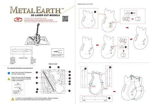 Fascinaciones MMS 075 - la Tierra del Metal, Bajo eléctrico, Juguetes de construcción