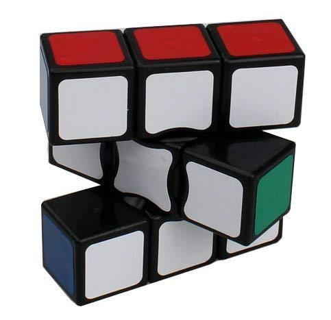 FAVNIC Speed Cube 1x3X3 Magic Cube / Puzzle Game/ Classic 1x3x3 Magic Speed Cube/ Best Size 5.6*5.6 cm Brain Teasers/ Smooth Twist / Vibrant Colours